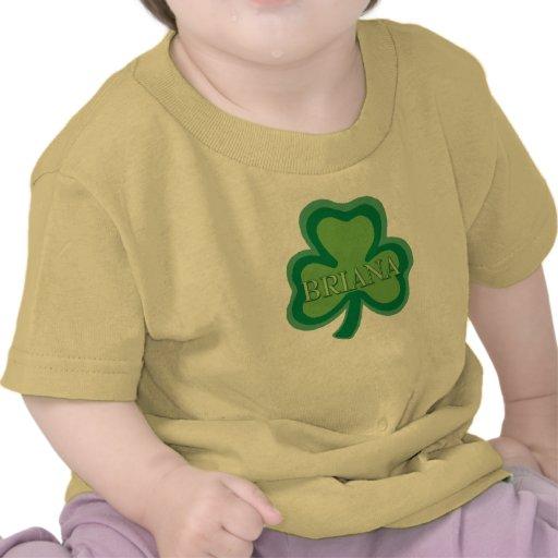 Nombre del irlandés de Briana Camiseta