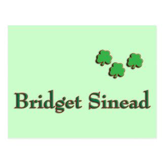 Nombre del irlandés de Bridget Sinead Postal