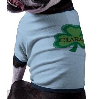 Nombre del irlandés de Ciaran Camiseta De Perro