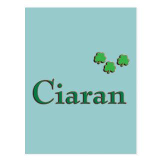 Nombre del irlandés de Ciaran Tarjeta Postal