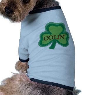 Nombre del irlandés de Colin Camiseta De Perrito
