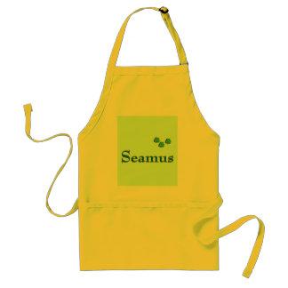 Nombre del irlandés de Seamus Delantal