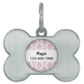 Nombre del perro de las etiquetas de perro casero placa mascota