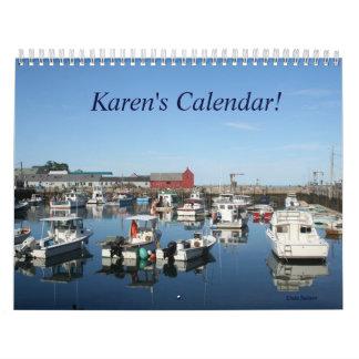Nombre del personalizar del calendario