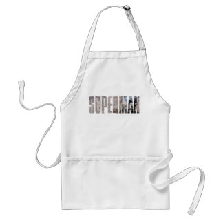 Nombre del superhombre delantal