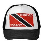 nombre del texto de la bandera de país de Trinidad Gorra