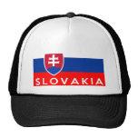 nombre del texto del país de la bandera de Eslovaq
