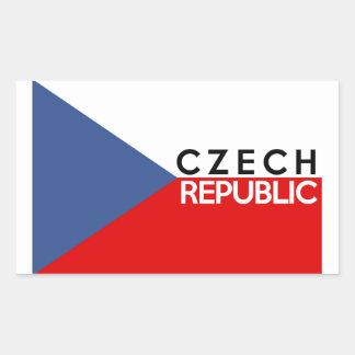 nombre del texto del país de la bandera de la rectangular pegatina
