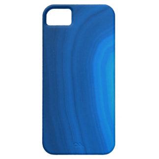 Nombre elegante en la caja azul del iPhone de la Funda Para iPhone 5 Barely There