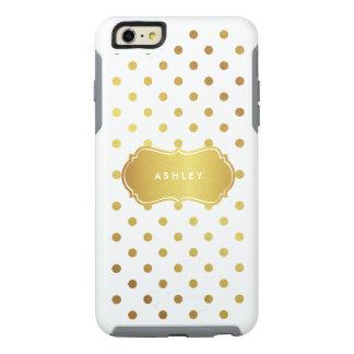 Nombre elegante femenino del monograma de los funda otterbox para iPhone 6/6s plus