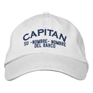 Nombre ESPAÑOL del EL Capitan Nombre del barco y Gorra De Béisbol