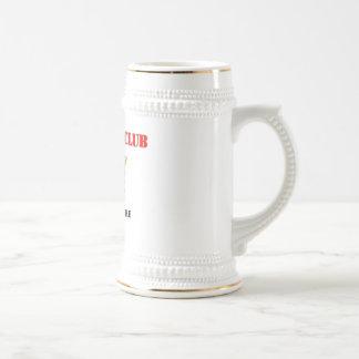 Nombre/fila de encargo jarra de cerveza
