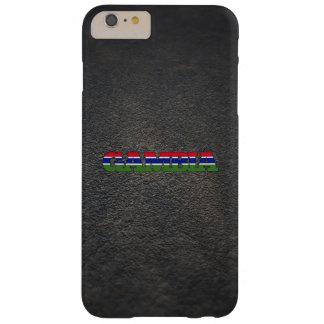 Nombre gambiano y bandera funda para iPhone 6 plus barely there
