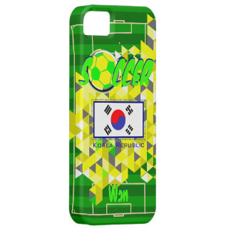 Nombre geométrico de la bandera de la Corea del Su iPhone 5 Case-Mate Carcasa