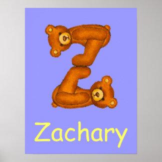 Nombre inicial de Letter~Custom del alfabeto del o Impresiones
