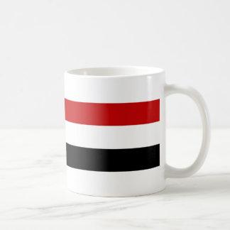 nombre largo del símbolo de la nación de la taza básica blanca
