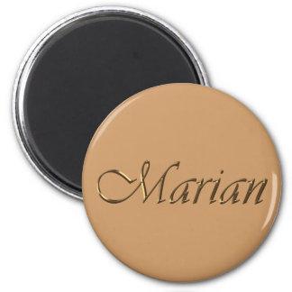 Nombre mariano calificado artículo del regalo imán de nevera