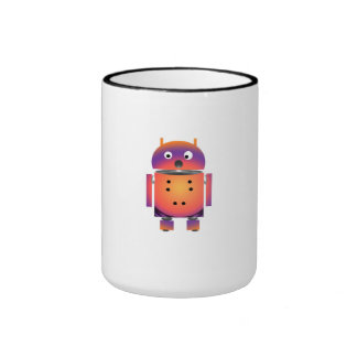 Nombre mi taza androide del viaje
