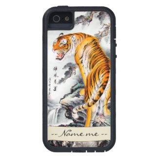 Nombre mullido chino oriental fresco de la iPhone 5 fundas