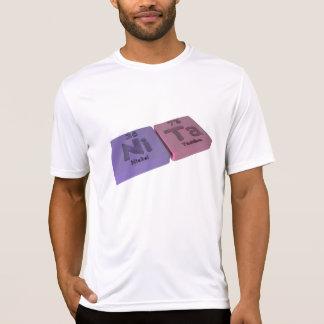 Nombre-Nita-Ni-TA-Níquel-Tantalio Camiseta