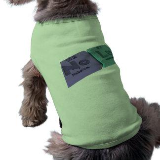 Nombre-Nola-Ninguno-La-Nobelio-Lantano Camisas De Perritos