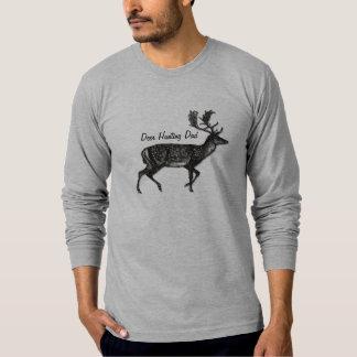 Nombre o lema de encargo del papá de la caza de polera