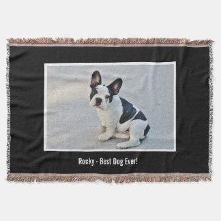 Nombre personalizado de la foto del dogo y del manta