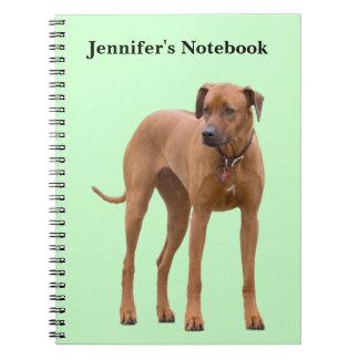 Nombre personalizado personalizado de los chicas d spiral notebooks