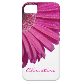 Nombre personalizado personalizado rosado de los funda para iPhone SE/5/5s