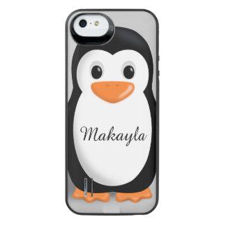 Nombre personalizado pingüino lindo del bebé funda power gallery™ para iPhone 5 de uncommon