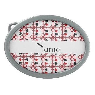 Nombre personalizado póker hebillas de cinturon