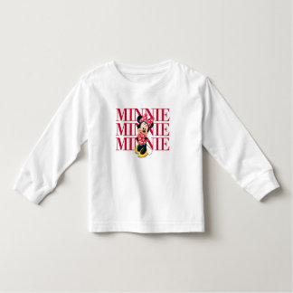 Nombre rojo de Minnie el   Camisas