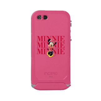 Nombre rojo de Minnie el | Funda Para iPhone 5 Incipio ATLAS ID