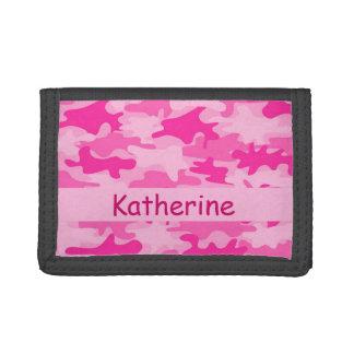 Nombre rosado del camuflaje de Camo personalizado