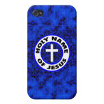 Nombre santo de Jesús iPhone 4 Fundas