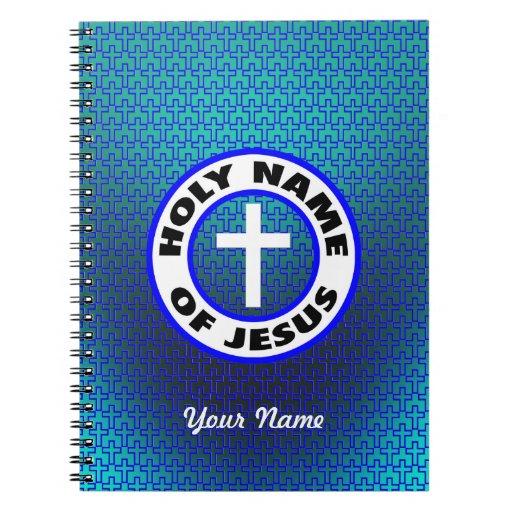 Nombre santo de Jesús Libretas