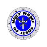 Nombre santo de Jesús Reloj