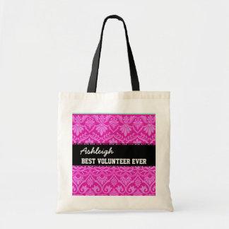 Nombre siempre de encargo blanco negro rosado del  bolsas