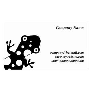 Nombre Spotty Lizard, Company, Tarjetas De Visita