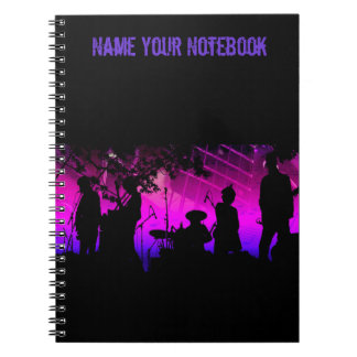 Nombre su cuaderno de la banda