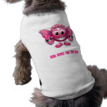 Nombre su ropa del mascota camisetas mascota
