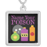 Nombre su veneno joyeria personalizada