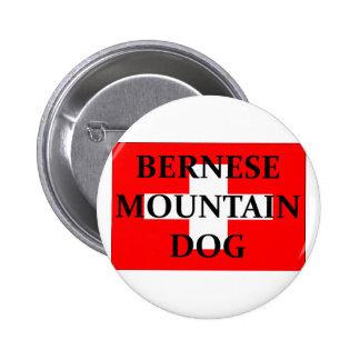 nombre Suiza flag.png del perro del mt de las Pin Redondo 5 Cm