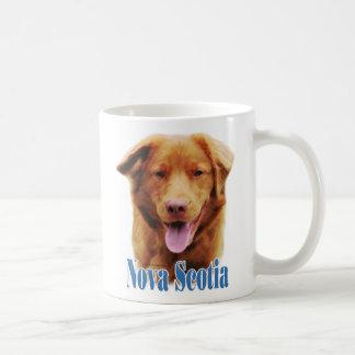 Nombre tocante del perro perdiguero del pato de Nu Tazas De Café