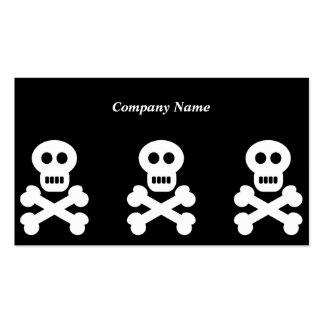 Nombre White Skulls, Company Tarjetas De Visita