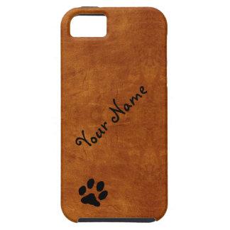 Nombre y caso del iPhone 5 de la impresión de la p iPhone 5 Case-Mate Cárcasas