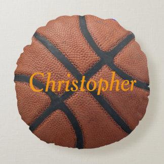 Nombre y posición del baloncesto cojín redondo
