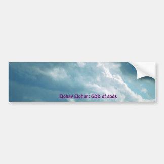 Nombres de DIOS con significados Etiqueta De Parachoque