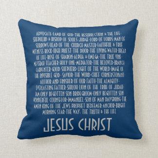 Nombres de Jesús Cojín Decorativo