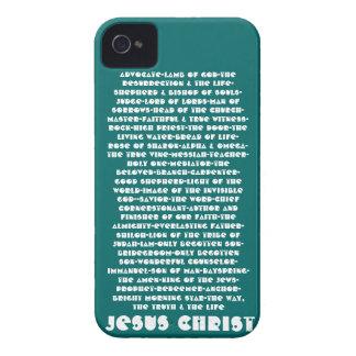 Nombres de Jesús iPhone 4 Case-Mate Cárcasa